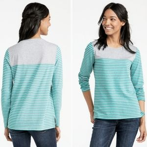 J.CREW Super Soft Shrink Free Long Sleeve Crew Tee